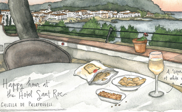 Watercolor Sketching Candace Rose Rardon | Portugal