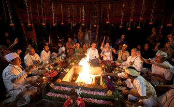 Full Moon Agni Hotra Fire Ceremony