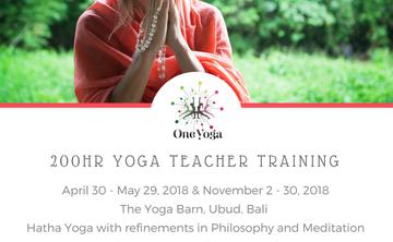One Yoga 200 Hour Yoga Teacher Training - Yoga Alliance Certified