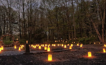 Autumn Candlelight Labyrinth Walk