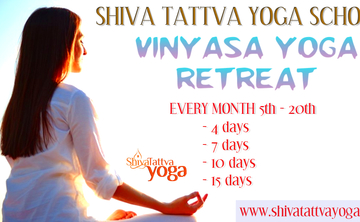 Vinyasa Yoga Retreats : 7 Days & 14 Days Yoga Retreat in India
