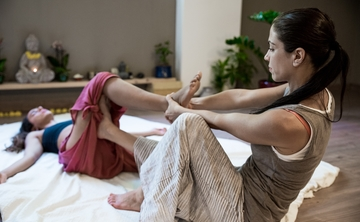Thai Yoga Massage Training in Greece