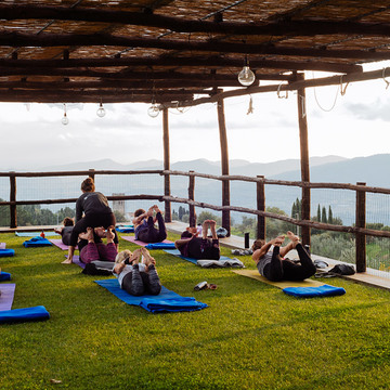 7-Day Tuscan Countryside Yoga Adventure, May 2018