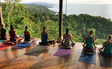 Ladies Yoga Beach Retreat in Costa Rica
