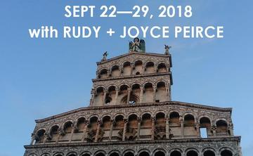 GENTLE YOGA IN TUSCANY: A YOGA + TOURING ADVENTURE WITH  RUDY + JOYCE PEIRCE | SEPT 22 – 29, 2018