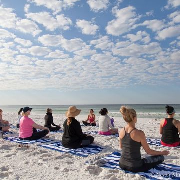 Ladies Yoga & Wine Beach Retreat