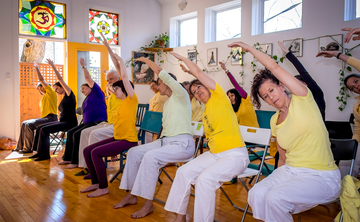Chair Yoga Training: Making Yoga Accessible – CANCELLED