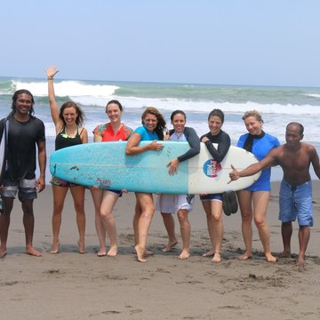 """GET IT ALL,"" SURF AND YOGA PACKAGE, BALI, YEAR ROUND"