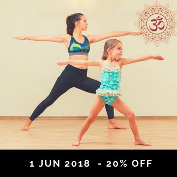 Yoga for the kids & family fun – Weekend Retreat