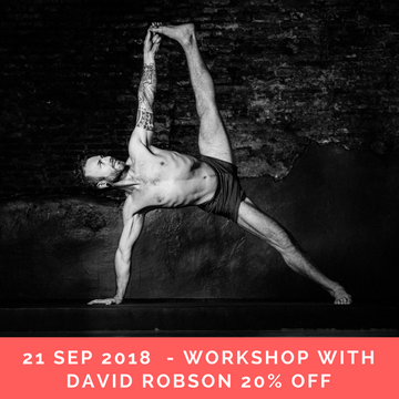 Ashtanga Intensive with David Robson