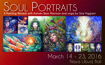 Soul Portraits Bali: A Painting Retreat