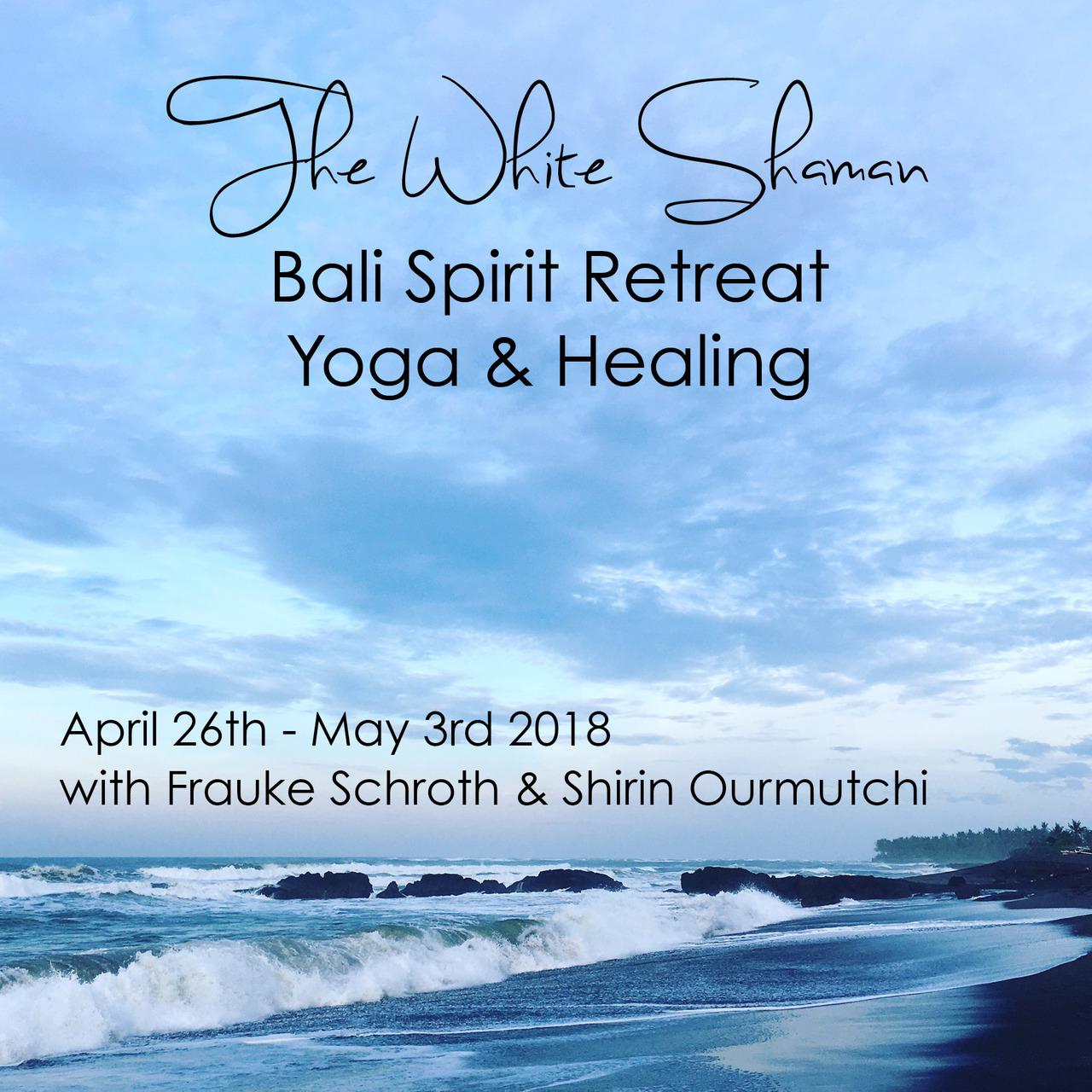 the white shaman bali spirit retreat yoga healing event retreat guru. Black Bedroom Furniture Sets. Home Design Ideas