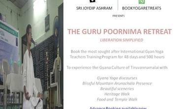 48 Day, 500-hour Gyana Pilgrimage w/ Guru Poornima Retreat, India