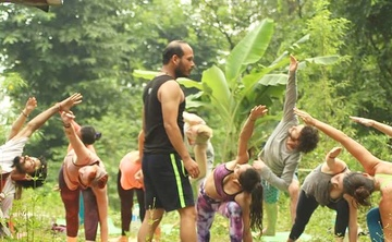 Vinyasa Yoga Teacher Training, Rishikesh India - January 2018