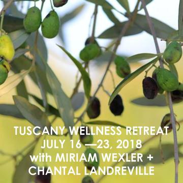 LIVE OUT LOUD YOGA RETREAT IN TUSCANY WITH MIRIAM WEXLER + CHANTAL LANDREVILLE | JUNE 16 – 23, 2018