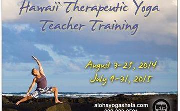 Therapeutic Yoga Teacher Training
