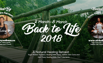 BACK TO LIFE: A NATURAL HEALING RETREAT