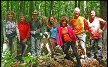 Menla Spring Volunteer Trail Restoration Retreat Part 1