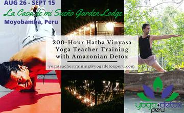21 Days RYT 200-Hour Hatha Vinyasa Teacher Training with Amazonian Detox | Adjustments – Inversions - Pranayama