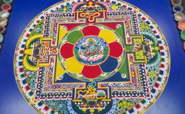The Sacred Art of the Sand Mandala