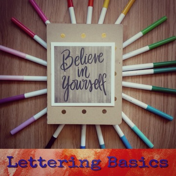 Lettering Basics (Beginner) Thursday Oct 4th 6:30-8:30pm