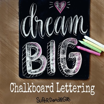 Chalkboard Lettering (Beginner) Oct 6th, 4:15-5:45pm