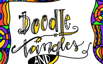 Doodle Tangles + Textures May 5th 4:15-5:45pm