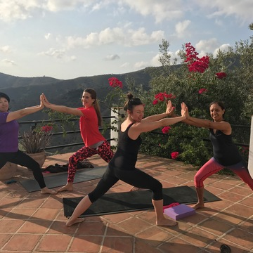 """The Yoga holiday to suit everyone"" -Yoga retreat in Andalucia,Spain                                                                                    18-21 May, 2018"