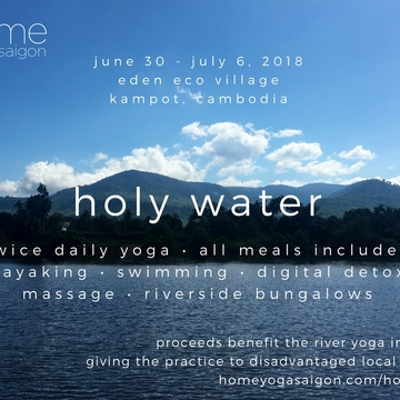 holy water (weeklong yoga retreat)