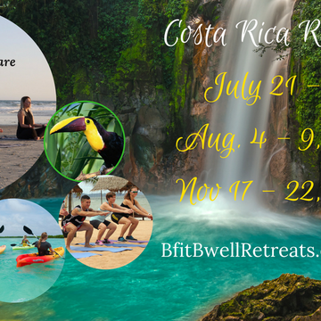 Be Fit Be well Retreats Year Round Fitness, Wellness and Empowerment retreats in Costa Rica