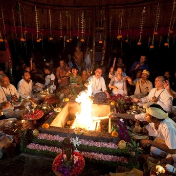 Full Moon Eve Agni Hotra Fire Ceremony