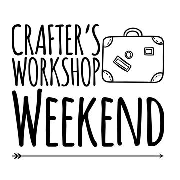 August 16-19:  Crafter's Workshop Weekend–> 25 spots left