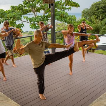Tai Chi Long Life Retreat in Pavones, Costa Rica