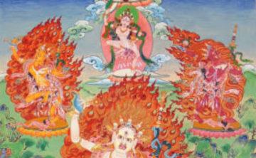 Wisdom Rising: Journey into the Mandala of the Empowered Feminine – Mandala der Fünf Dakinis