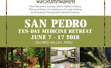10 Day Wachuma/San Pedro Healing Retreat