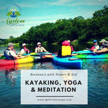 Kayaking, Yoga & Meditation – Monday, August 6