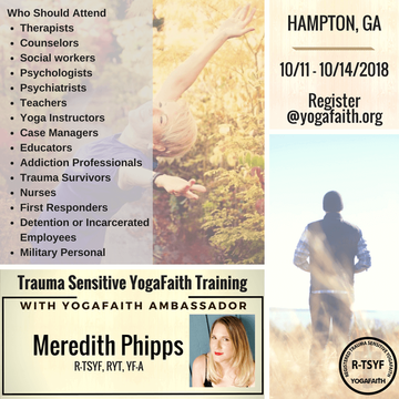Trauma Sensitive YogaFaith Certification