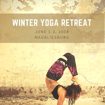 Winter Yoga Retreat in Magaliesburg South Africa