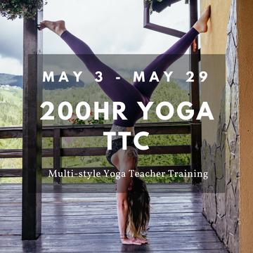 27 Day Akasha Multi-style 200hrs Yoga Teacher Training for Retreat Leaders – Yoga Alliance Certified