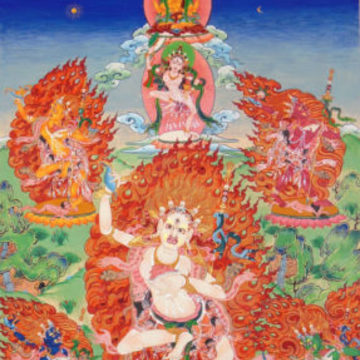 Wisdom Rising: Journey into the Mandala of the Empowered Feminine | Mandala of the Five Dakinis Retreat
