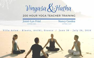 Intelligent Vinyasa 200 hour Yoga Teacher Training in Greece