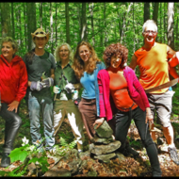 Menla Spring Volunteer Trail Restoration Retreat Part 2
