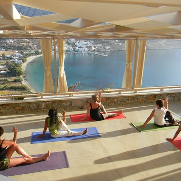 7 nights Rejunivating Yoga and Meditation Retreat in Amorgos, Greece  28/09-05/10