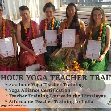 200 Hour Hatha & Ashtanga Yoga Teacher Training in Rishikesh