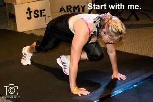 Charispt invites you to start your fitness regime with her