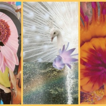 Spiritual Crafting, based upon SoulCollage® July 2018