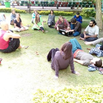 100 Hours Yoga Teacher Training Course Rishikesh - June 2018