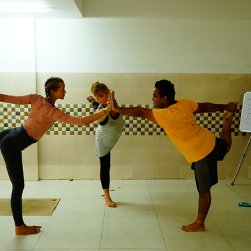 100 Hours Yoga Teacher Training Course Rishikesh - August 2018