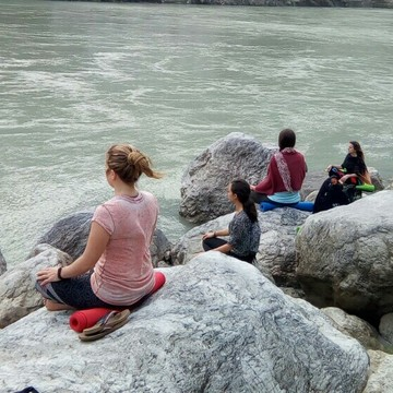100 Hours Yoga Teacher Training Course Rishikesh - October 2018