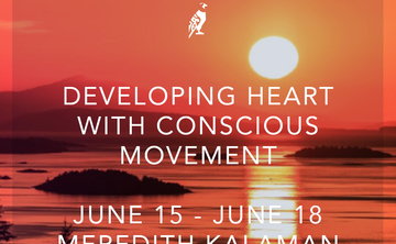Developing Heart with Conscious Movement